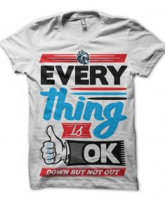 boys everything is ok t-shirt