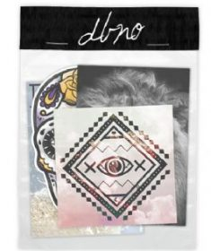 DBNO 4 Stickers Pack (Skull,Lion,Wolf P&G,All Seeing Eye)