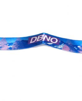 DBNO Mountain Wristband (pink and blue)
