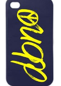 "DBNO ""Peace"" logo Hardback iPhone 5 case"