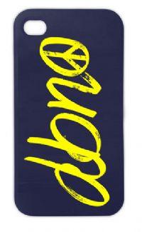 "DBNO ""Peace"" logo Hardback iPhone 5 case"