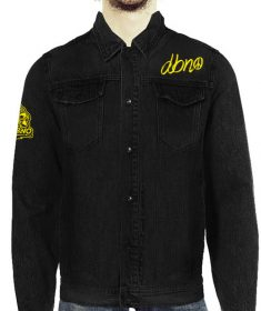Peace Black Denim Jacket